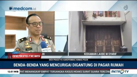 Kronologi Penemuan Benda Diduga Bom di Rumah Pimpinan KPK