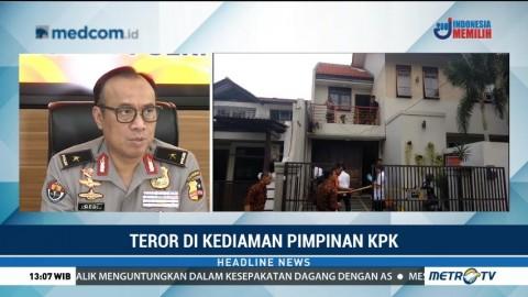 Polri Bentuk Tim Selidiki Teror Bom di Rumah Pimpinan KPK