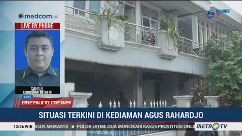 Rumah Ketua KPK Agus Rahardjo Dijaga Ketat Polisi