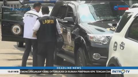 Polisi Olah TKP Rumah Ketua KPK Agus Rahardjo