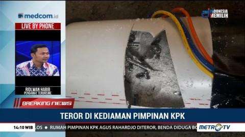 Teror di Kediaman Pimpinan KPK, Ini Kata Pengamat terorisme