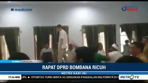 Rapat DPRD Bombana Lagi-Lagi Ricuh