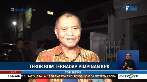 Ketua KPK: Teror adalah Resiko dari Perjuangan