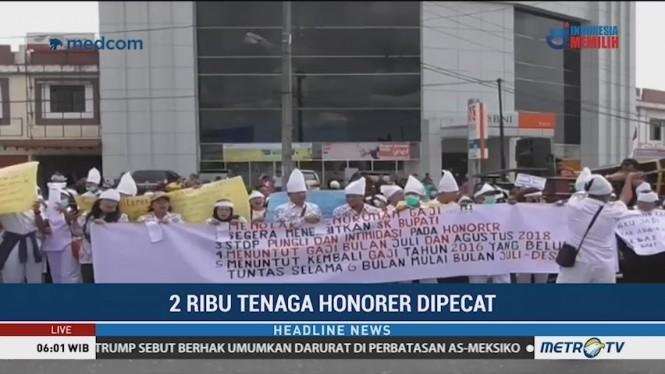 Hampir 2 Ribu Tenaga Honorer di Kabupaten Simalungun Dipecat