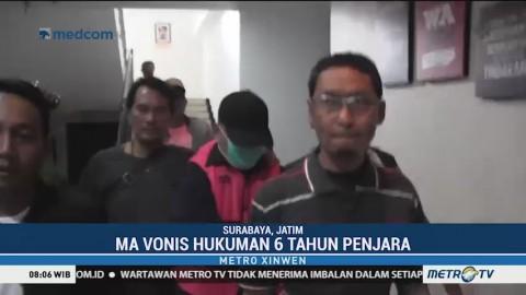 Mantan Ketua DPRD Surabaya Ditangkap