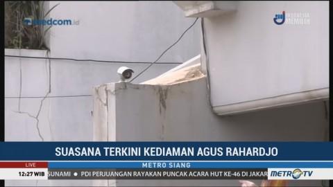 CCTV Tambahan Dipasang di Kediaman Agus Rahardjo