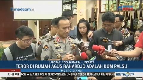Benda yang Ditemukan di Rumah Agus Rahardjo Adalah Bom Palsu