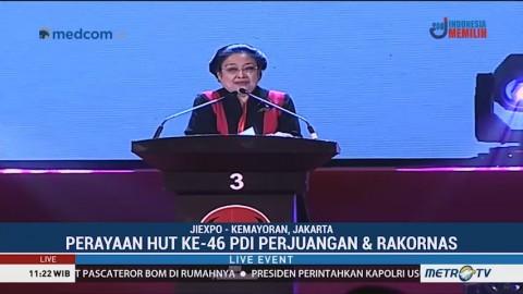 Pesan Megawati di Peringatan Hut HUT ke-46 PDIP