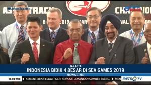 Indonesia Bidik Posisi 4 Besar di SEA Games 2019