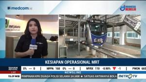 MRT Jakarta Beroperasi Komersial pada Maret 2019