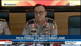 Polisi Periksa 12 Saksi Terkait Teror Bom Molotov di Rumah Laode