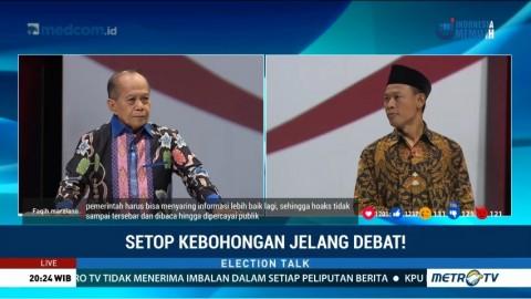 Setop Kebohongan Jelang Debat! (2)