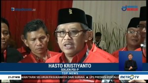 Ketua MPR Disoraki Kader PDIP, Hasto Minta Maaf