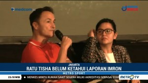 Ratu Tisha Mengaku Belum Tahu Soal Pelaporan Dua Petinggi PSSI