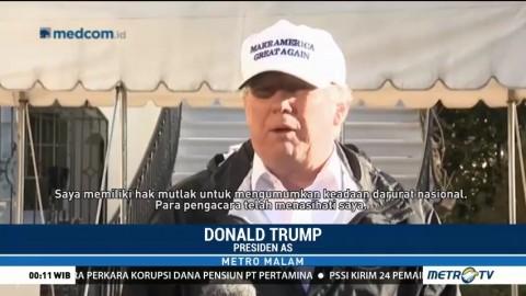 Trump Pertimbangkan Status Darurat Nasional