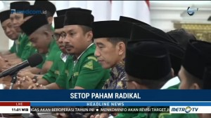 Pengurus GP Ansor Temui Jokowi di Istana
