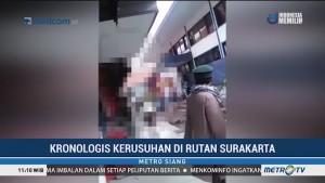 Kronologis Terjadinya Kerusuhan di Lapas Surakarta