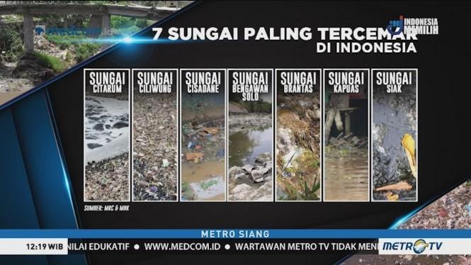 Berikut Tujuh Sungai Paling Tercemar di Indonesia