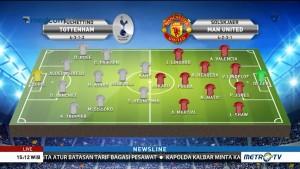 Prediksi Formasi Tottenham vs Manchester United