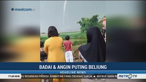 Puting Beliung Terjang Rancaekek Bandung