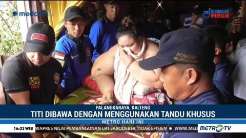 Wanita Berbobot 350 Kg asal Palangka Raya Dievakuasi ke RS