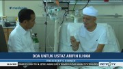Kegiatan Jokowi: Jenguk Arifin Ilham hingga Bertemu Agnez Mo