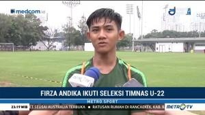 Firza Andika Ikuti Seleksi Timnas U-22 Usai Trial di Eropa