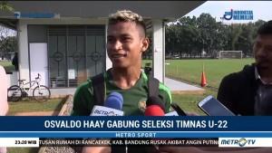 Osvaldo Haay Gabung Seleksi Timnas U-22