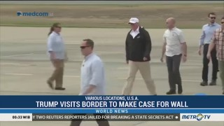 Trump Visits Border to Make Case for Wall