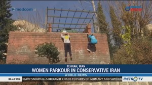 Women Parkour in Conservative Iran