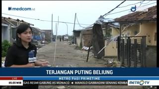 Perumahan Rancaekek Permai Wilayah Terparah Terdampak Puting Beliung
