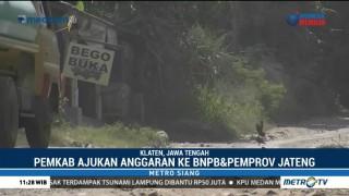 Jalur Evakuasi Gunung Merapi Rusak