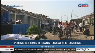 Warga Rancaekek Mulai Bersihkan Rumah Terdampak Puting Beliung