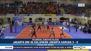 Putra BNI 46 Kalahkan Jakarta Garuda