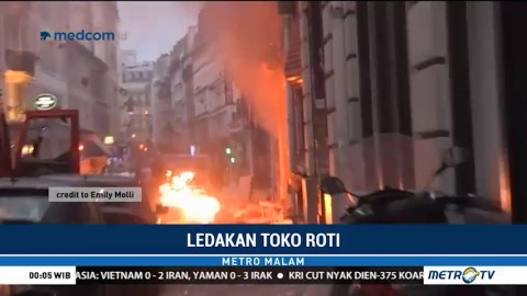 Ledakan Terjadi di Toko Roti Paris