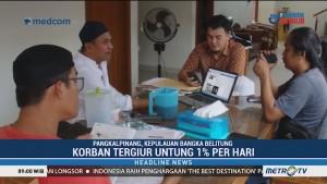 Ratusan Warga Bangka Belitung Jadi Korban Investasi Bodong