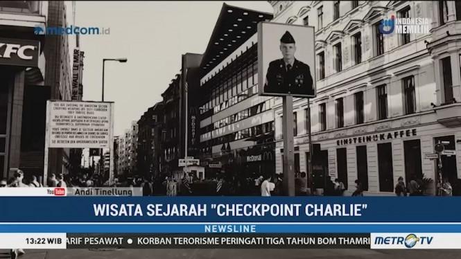 Wisata Sejarah 'Checkpoint Charlie'