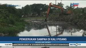 Pembersihan Sampah di Kali Pisang Capai 80 Persen
