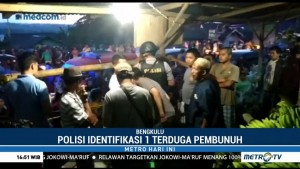 Polisi Buru Pelaku Pembunuhan Satu Keluarga di Bengkulu