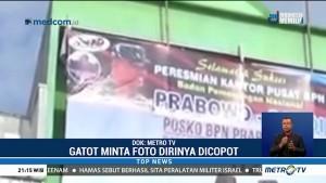 Gatot Nurmantyo Minta Fotonya di Posko Prabowo-Sandi Dicopot
