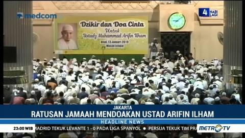Doa Bersama untuk Ustaz Arifin Ilham di Masjid Istiqlal