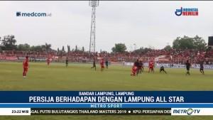 Persija Menang Tipis Atas Lampung All Star di Laga Amal