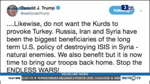 Trump Peringatkan Turki Agar Tak Serang Kurdi