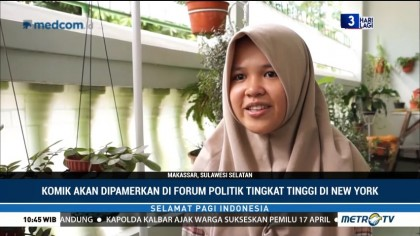 Hebat, Siswi SMA Makassar Ini Juara Komik Dunia