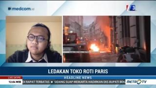 Akses di Sekitar Lokasi Ledakan di Paris Masih Ditutup
