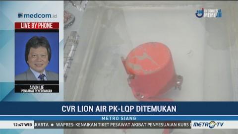 Perkembangan Terkini Setelah CVR Lion Air PK-LQP Ditemukan
