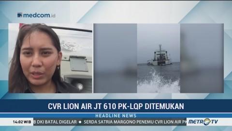 Tinjau Lokasi Penemuan CVR Lion Air PK-LQP