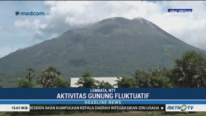 Aktivitas Gunung Ile Lewotolok Meningkat