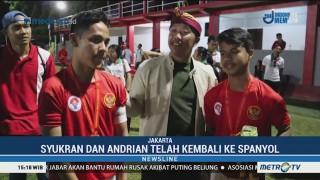 Pemain Muda Indonesia Berguru di Spanyol