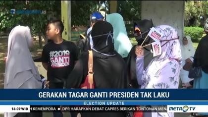 Deklarasi #2019GantiPresiden Gagal Digelar